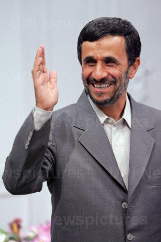 Iran's President Mahmoud Ahmadinejad meets Former U.N. Secretary General Kofi Annan in Tehran