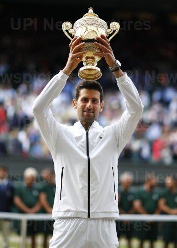 Novak Djokovic defeats Roger Federer in the Wimbledon Men's Singles Final match