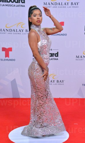 Elisama attends the Billboard Latin Music Awards in Las Vegas