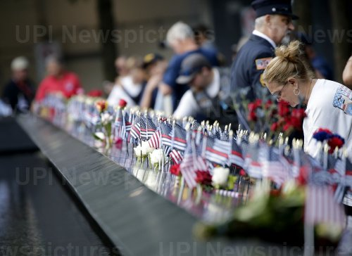 18th anniversary of the 9/11 terrorist attacks in New York