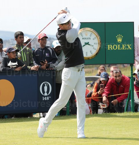 Dylan Frittelli on the 3rd day of the Open Championship at Royal Portrush