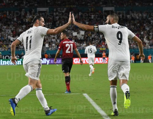 International Champions Cup match between Manchester United vs. Real Madrid  at Hard Rock Stadium, Miami