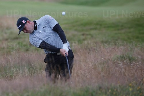 Gary Woodland on the 2nd day of the Open Championship at Royal Portrush