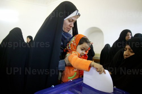 Iranians vote for parliament