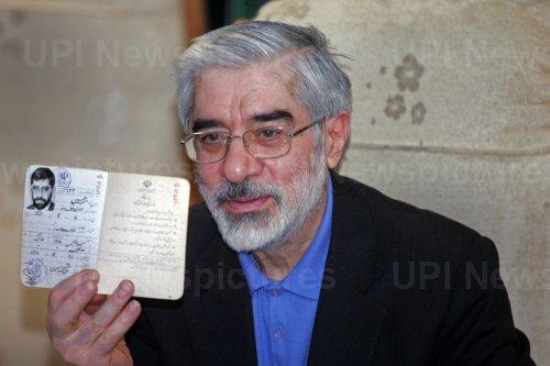 Iran's former Parliament speaker Mahdi Karroubi registers for upcoming presidential election