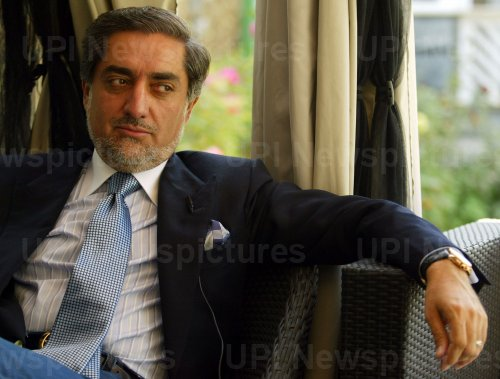 Afghan Presidential candidate and former foreign minister Abdullah Abdullah