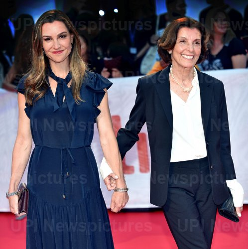 Delphine Robertson attends 'Once Were Brothers' premiere at Toronto Film Festival