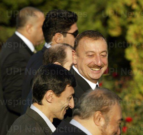 Azerbaijan's President  Ilham Aliyev Arrives in Tehran