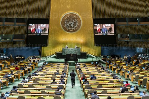 76th Session of the United Nations General Assembly in New York