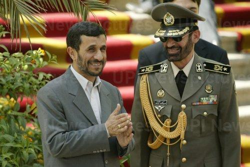 Iran's President Mahmoud Ahmadinejad meets his Kazakh Counterpart