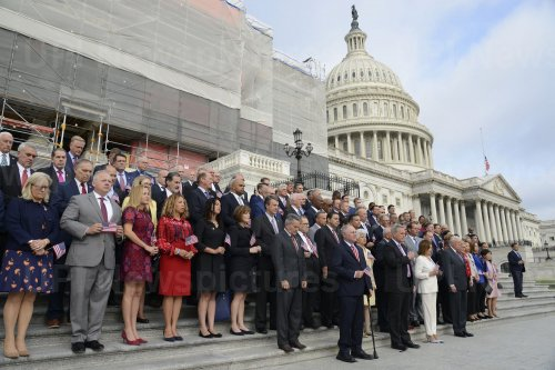 Members of Congress mark 9/11 anniversary at US Capitol