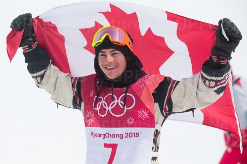 Men's Big Air Snowboard final at Pyeongchang 2018 Winter Olympics