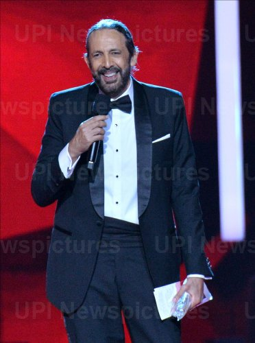 Juan Luis Guerra wins award at the Billboard Latin Music Awards in Las Vegas