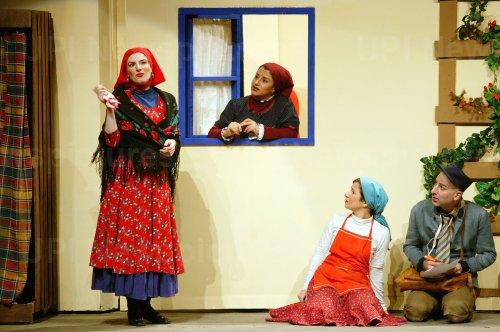 Iranian Actors Perform in Niavaran Amphitheater in Tehran