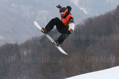 Canadian McMorris in slopestyle at Pyeongchang 2018 Winter Olympics