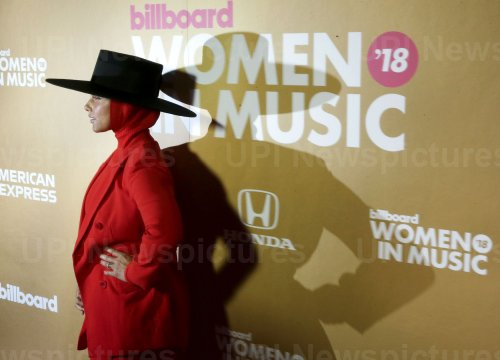 Alicia Keys at the Billboard Women In Music 2018
