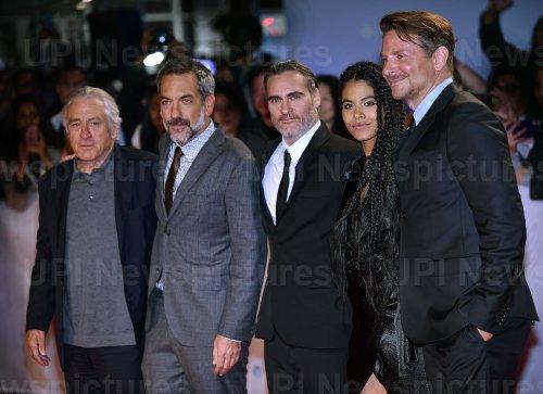Joaquin Phoenix attends 'Joker' premiere at Toronto Film Festival