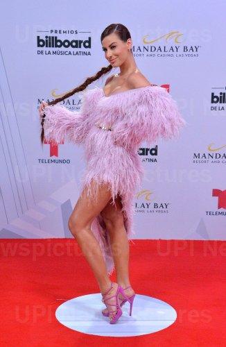 Nastassja Bolivar attends the Billboard Latin Music Awards in Las Vegas