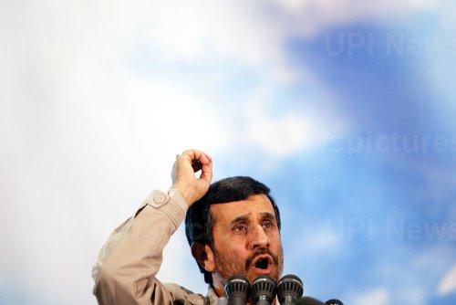 Iran's President Mahmoud Ahmadinejad speaks on 19th anniversary of Ayatollah Khomeini's death