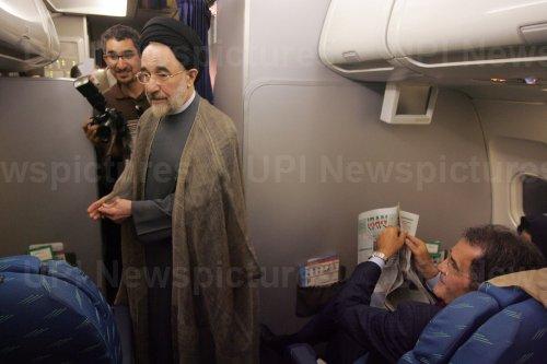 Iran's former President Seyyed Mohammad Khatami visits his birthplace