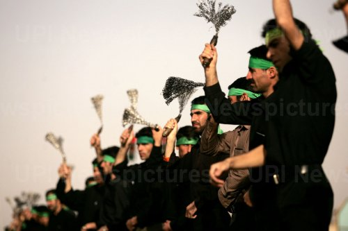 Iranian Shiite Muslims mark end of 40 days of mourning following the anniversary of the seventh century death of Imam Hussein in Iraqn
