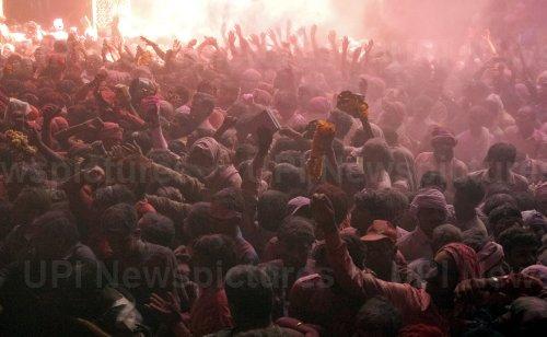 Indians celebrate Hindu festival of colors, Holi