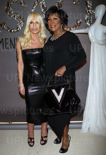 Donatella Versace Menswear 2008 Launch in New York