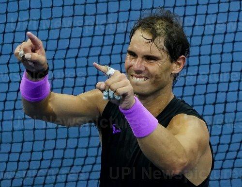 Rafael Nadal, of Spain, wins at US Open