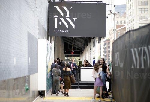 New York Fashion Week at Spring Studios