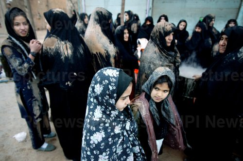 Special tradition to commemorate Ashura in Khorramabad, Iran