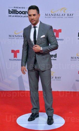 Sebastian Caicedo attends the Billboard Latin Music Awards in Las Vegas