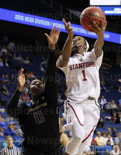 Washington vs Stanford in the NCAA Division I basketball Championship