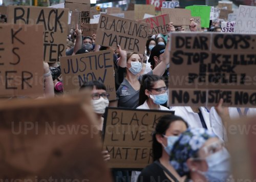 George Floyd Death Protests In New York