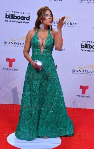 Betsy Vazquez La Gatita attends the Billboard Latin Music Awards in Las Vegas