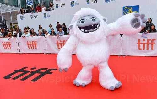 Abominable snowman attends 'Abominable' premiere at Toronto Film Festival