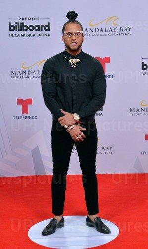 El Alfa attends the Billboard Latin Music Awards in Las Vegas