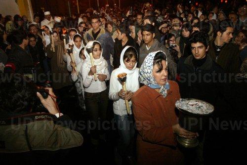 Sadeh Religion Celebration in Iran