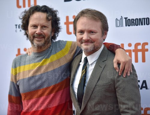 Rian Johnson attends 'Knives Out' premiere at Toronto Film Festival