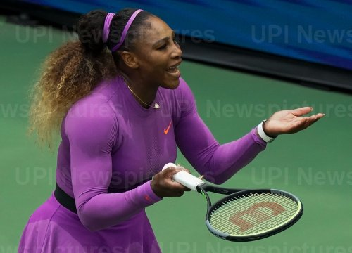 Serena Williams, of the United States, loses at US Open