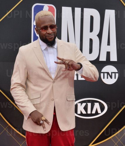 Lance Fresh attends the 2019 NBA Awards in Santa, Monica, California