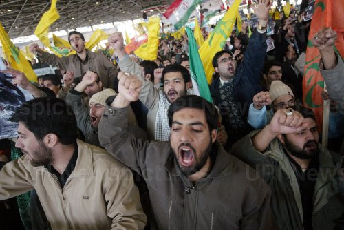 Iranians demonstrate in support of Gaza in Tehran