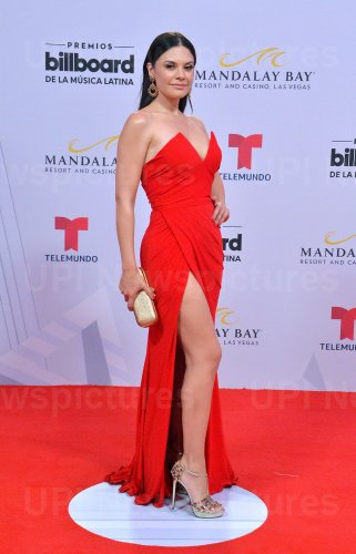 Angelica Celaya attends the Billboard Latin Music Awards in Las Vegas