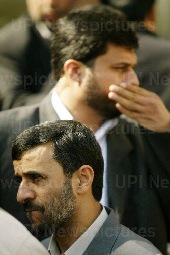 Iran's President Mahmoud Ahmadinejad attends International Congress