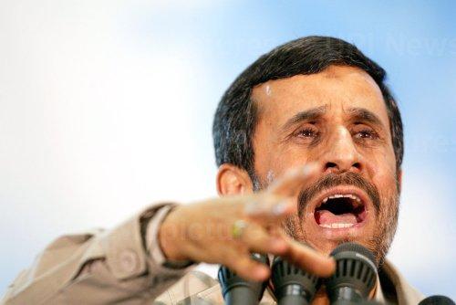 Iran's President Mahmoud Ahmadinejad speaks on 19th anniversary of Ayatollah Khomeini's death.
