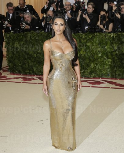 Kimberly Kardashian West at the Met Gala in New York