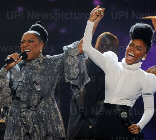 Patti LaBelle and Janelle Monae perform at the 2010 BET Awards in Los Angeles