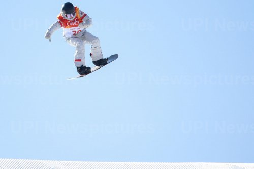 Ladies' slopestyle finals at Pyeongchang 2018 Winter Olympics