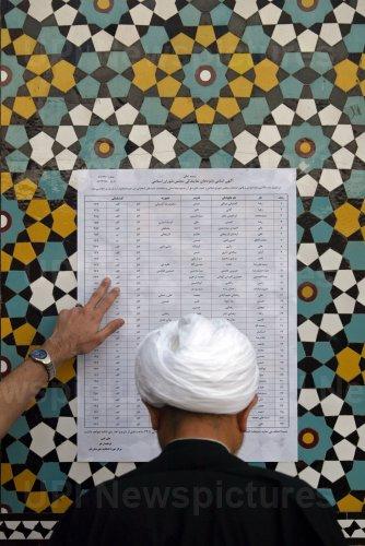 Iranians vote for parliament