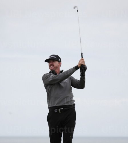 Jimmy Walker on the 1st day of the Open Championship at Royal Portrush
