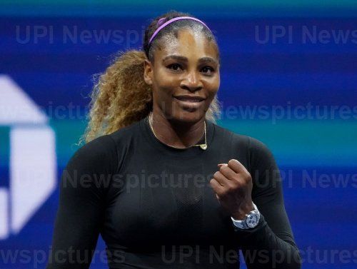 Serena Williams, of the United States, wins at the US Open